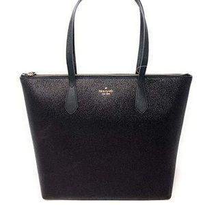 ♠️ Kate Spade NY Joeley Large Tote Black Glitter
